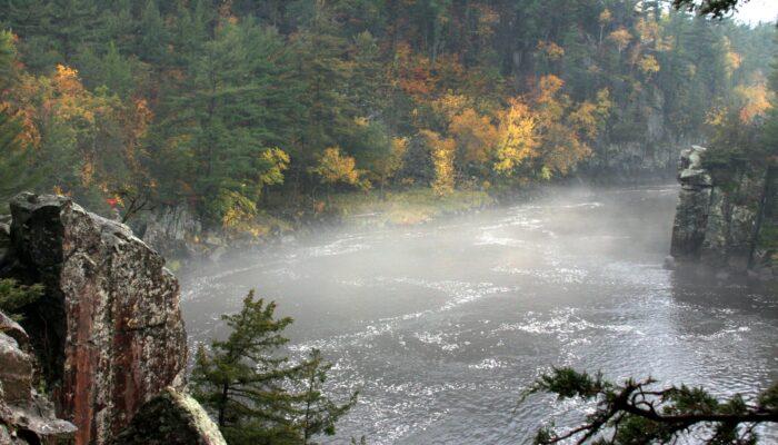 St Croix River in Autumn
