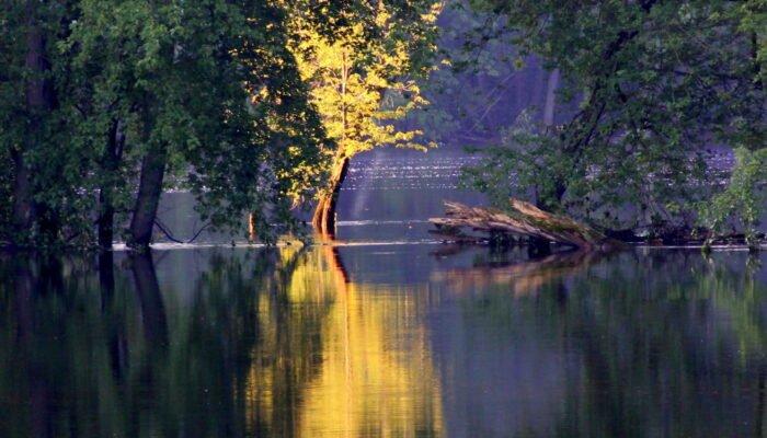 ST. CROIX UNITARIAN UNIVERSALIST FELLOWSHIP, St Croix River springtime